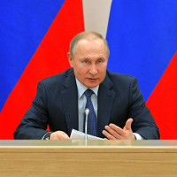 Putin rules out Russia legalizing gay marriage.