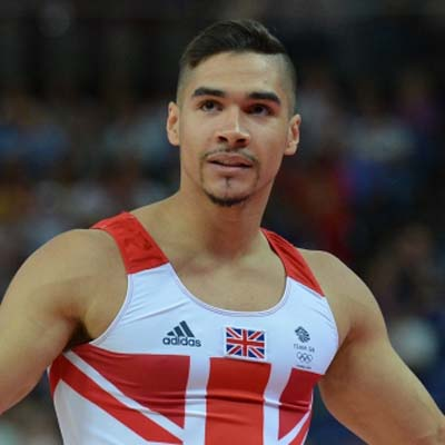 British gymnast Louis Smith lashes out at fans who keep claiming he's gay.