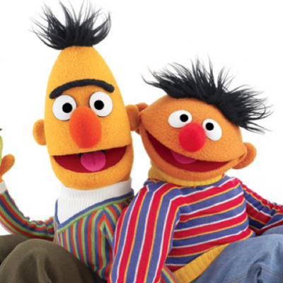 """Sesame Street"" threatening a company for suggesting Bert and Ernie may have contracted STDs."