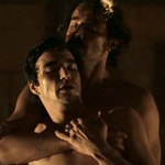 Brazilian soap airs country's first gay sex scene.