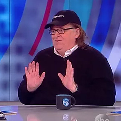 Michael Moore talks about Hillary Clinton, his new anti-Trump film, and more.