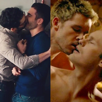 Nine of the most unforgettable same-sex kisses on TV.