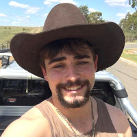 Gay Aussie cowboy has a few words for his haters.