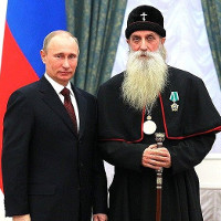 Russian church leader claims full beards protect against becoming gay.