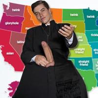 Gay porn based on faith, race and region.