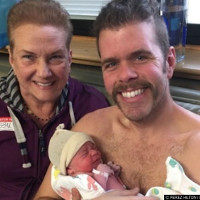 Gay blogger Perez Hilton becomes a dad for the THIRD time.