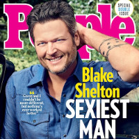 """Country singer Blake Shelton named People's """"Sexiest Man of the Year."""""""