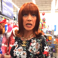 Miss Coco Peru goes to Walmart in search of a very special Crock Pot.