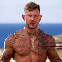 "OMG, he's naked: Sean Pratt from MTV's ""Ex on the Beach."""