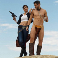 """These sexy, gender-swapped """"Star Wars"""" pics will bring balance to the Force."""