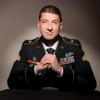Sgt. Nick Harrison is fighting back against Trump's outdated HIV military policy.