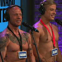 Why did three gay porn stars show up on the Howard Stern Show?
