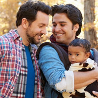 Two thirds of gay fathers have been discriminated against, study says.