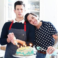 Super cute couple bring super queer cooking show back to the web.