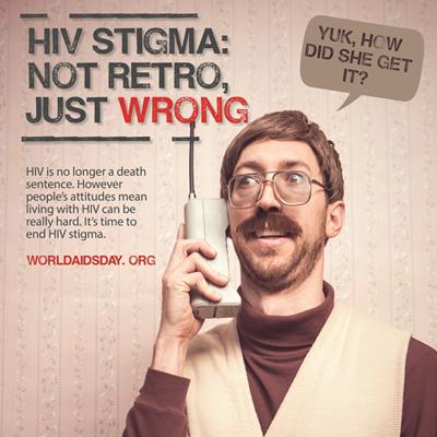 Go retro to battle HIV/AIDS