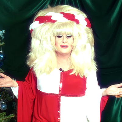 Lady Bunny adds a little Trump to a Christmas classic