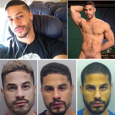 Gay porn model Tyce Jax arrested for domestic assault