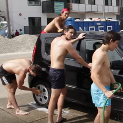 This is what straight men think about when washing your car