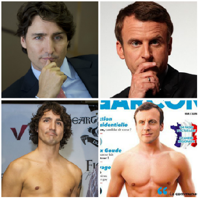 Who is hotter: Justin Trudeau or Emmanuel Macron?