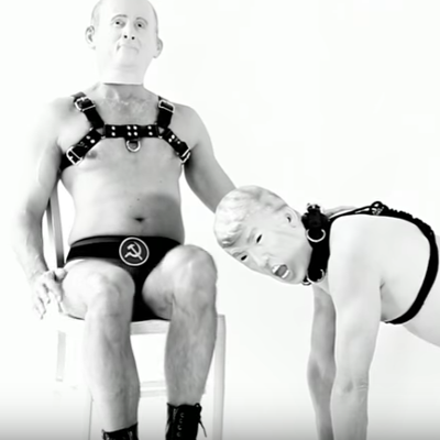 Corey TuT's new video features Putin and Trump in bondage play