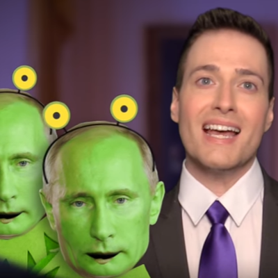 "Randy Rainbow explores the ""Russian Connection"""