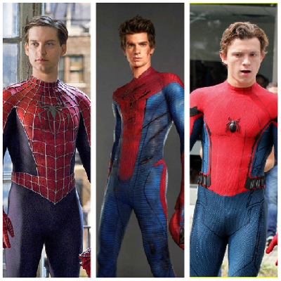 Who is the hottest Spider-Man: Maguire, Garfield or Holland?