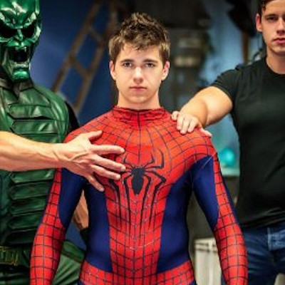 Men.com releases Spider-Man parody