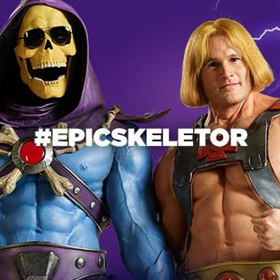 Yes, He-Man and Skeletor are an item