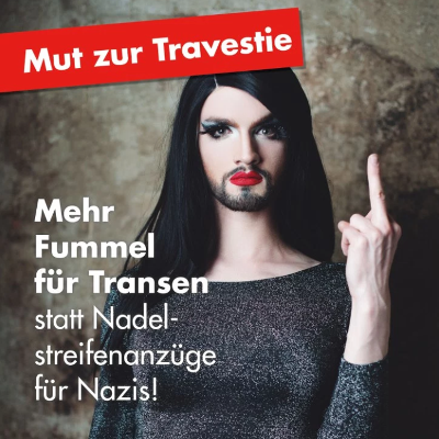 German drag queens form political party to fight Nazis