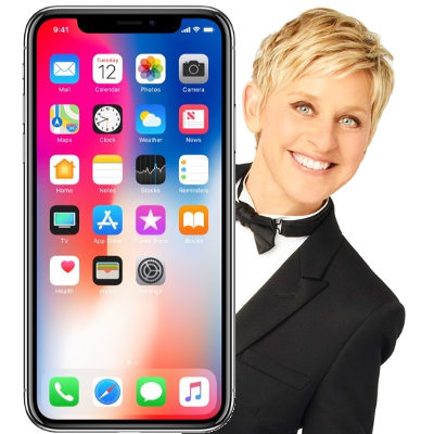 Ellen DeGeneres has some thoughts about the new iPhone