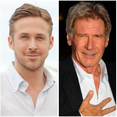 Who's hotter: Harrison Ford versus Ryan Gosling