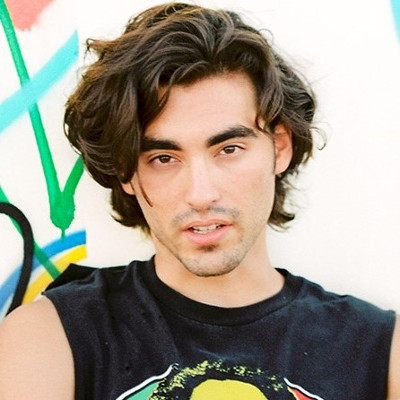 Actor Blake Michael likes to show off