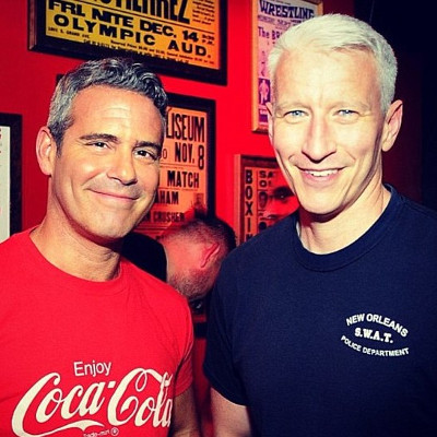 Battle of the best buds: Andy Cohen versus Anderson Cooper