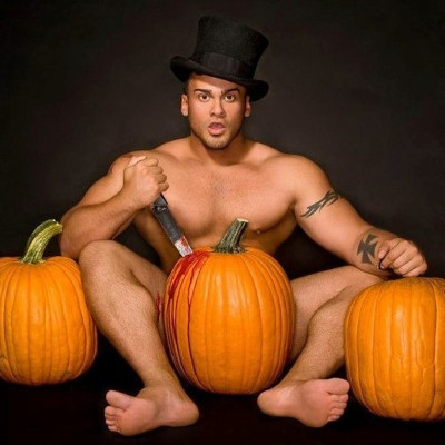 Check out these Halloweenie hunks!