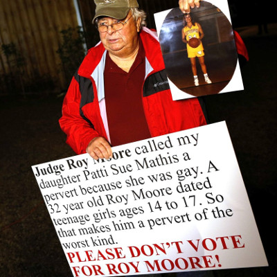 Ellen talks to the Alabama farmer who protested Roy Moore