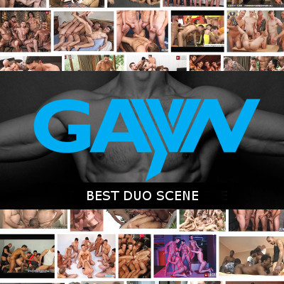 Who should win the GayVN Award for the best duo sex scene?