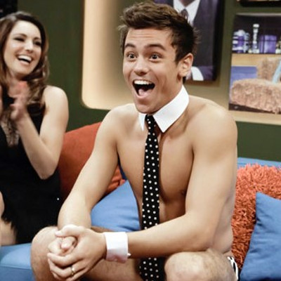 Yes, Tom Daley's bum is as smooth as you expected