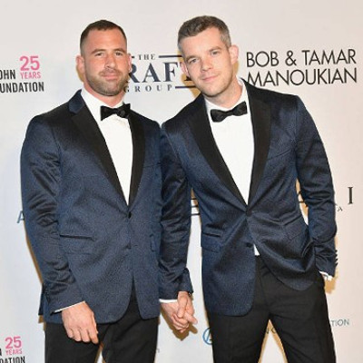 Russell Tovey is engaged ... to a former porn star?