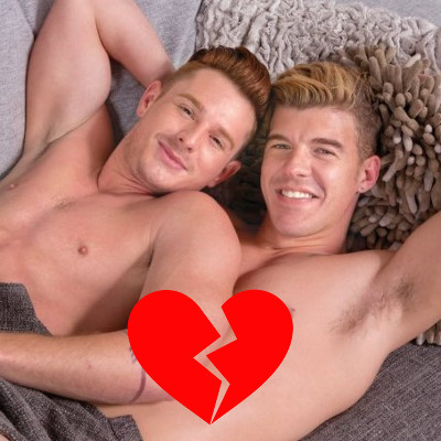 Brent Corrigan and JJ Knight calling it quits ... again