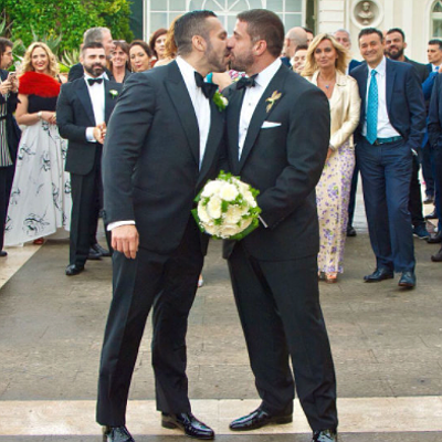 Porn studs Carlo Masi and Adam Champ are now married