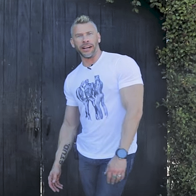 Inside the Tom of Finland House