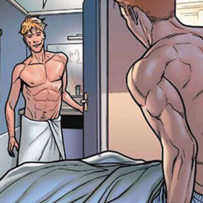 Things are heating up for comic book's Iceman