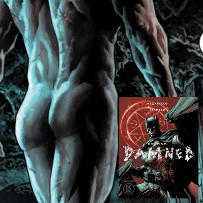 Batman's ass and cock on display in new comic