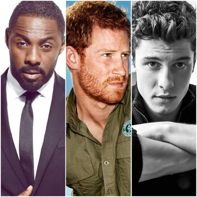Vote: Idris Elba vs Prince Harry vs Sean Mendes