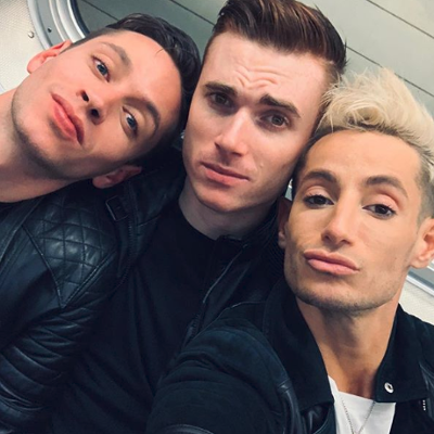 Frankie Grande talks about life in a throuple