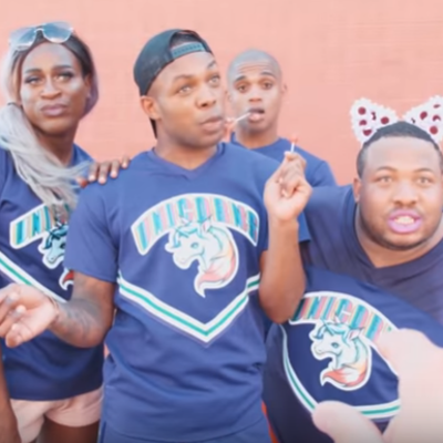 "Todrick Hall parodies ""Bring it On"""