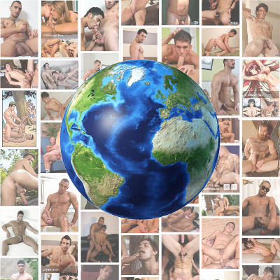 Top gay porn stars by country