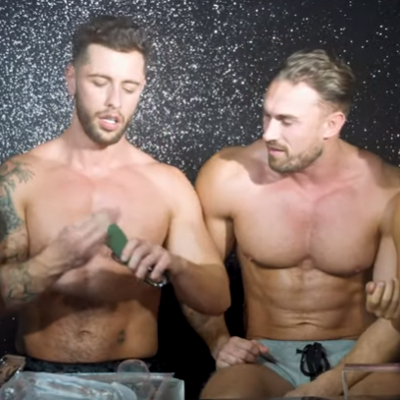 Hot straight guys review gay sex toys
