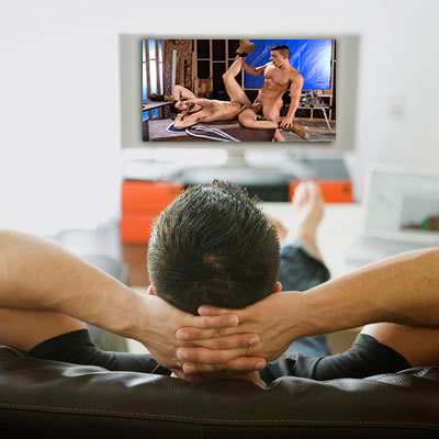 Porn Surfing 101 - Large screen viewing