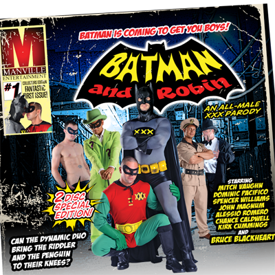 Gay Batman parody ready for release
